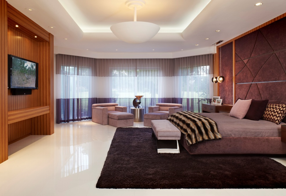 Master Bedroom Designs Purple