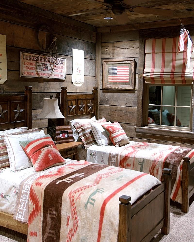 Rustic Kid's Bedroom