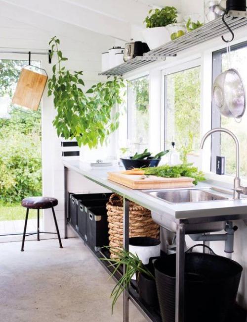 Scandinavian Industrial kitchen