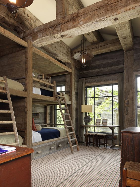 Rustic Kids Bedrooms 20 Creative Cozy Design Ideas: 30 Cozy Rustic Kids Bedroom Design Ideas