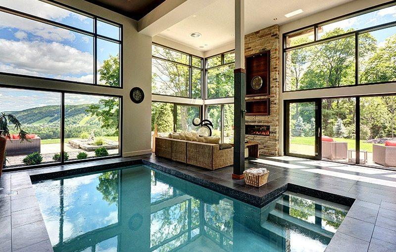 Indoor swimming pool luxus  20 Best Luxury Indoor Pools Inspiration