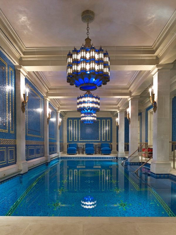 20 best luxury indoor pools inspiration for Best pool designs 2016
