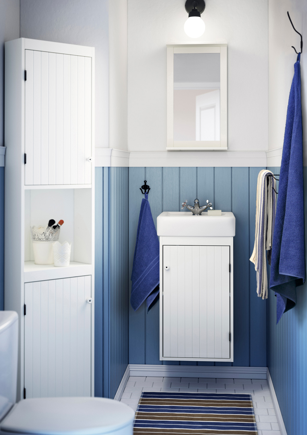 30 Beautiful Small Bathroom Decorating Ideas