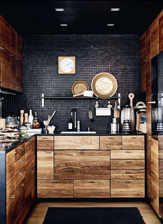 stylish-wooden-kitchen