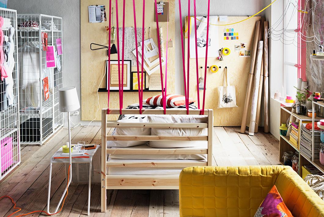 Ideas for a creative bedroom