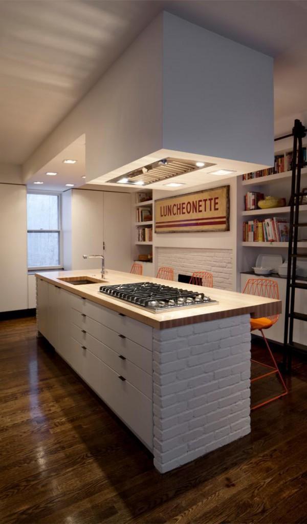 Retractable Kitchen Hood Interior Design