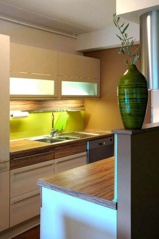 Small modern kitchen 2016