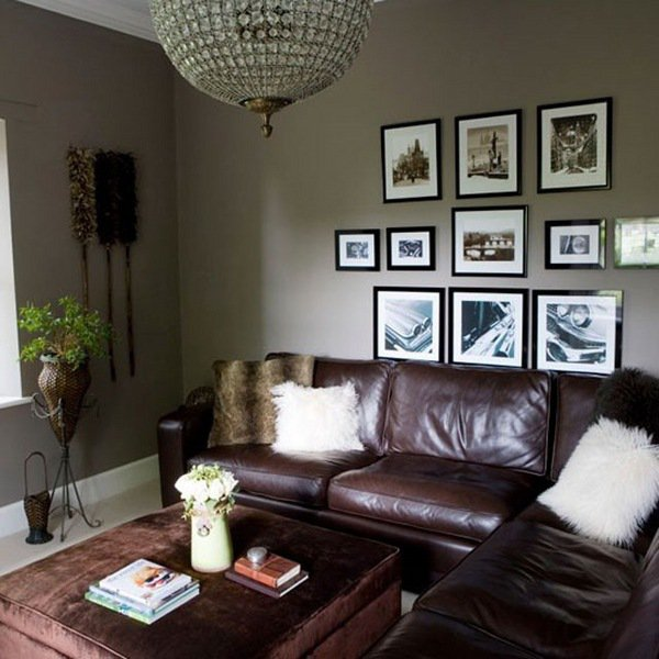 gray-and-brown-living-room-small-living-room-ideas-gray-walls-brown-leather-sofa