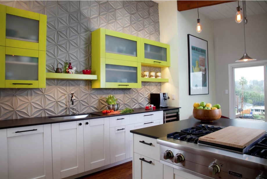 modern-kitchen-backsplash-green-cabinets