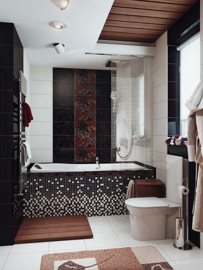small bathroom decorating ideas on a budget