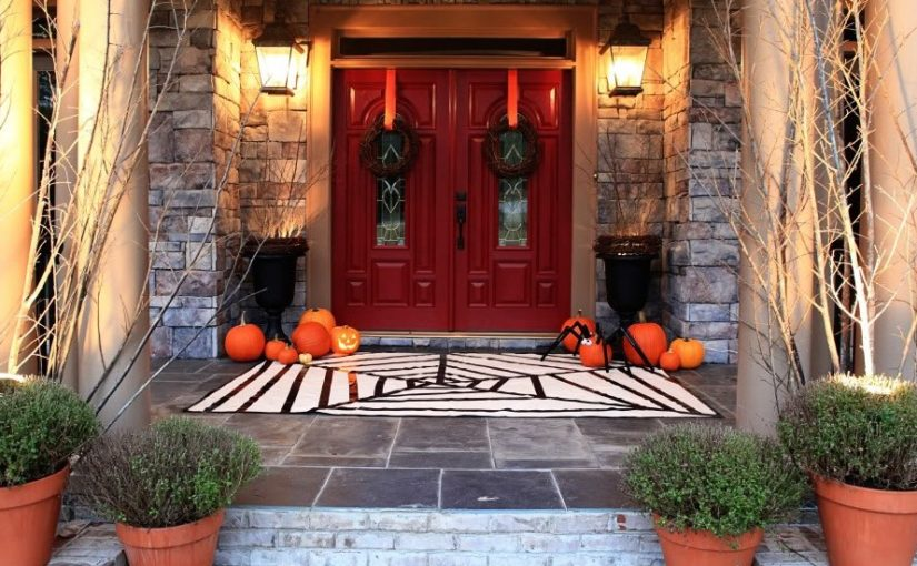 ALL Red Halloween Decoration