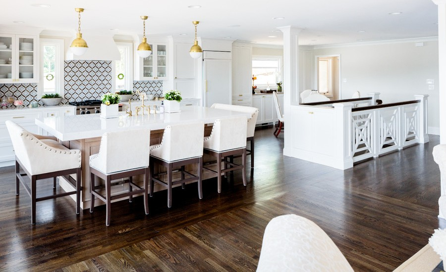 Contemporary Kitchen View