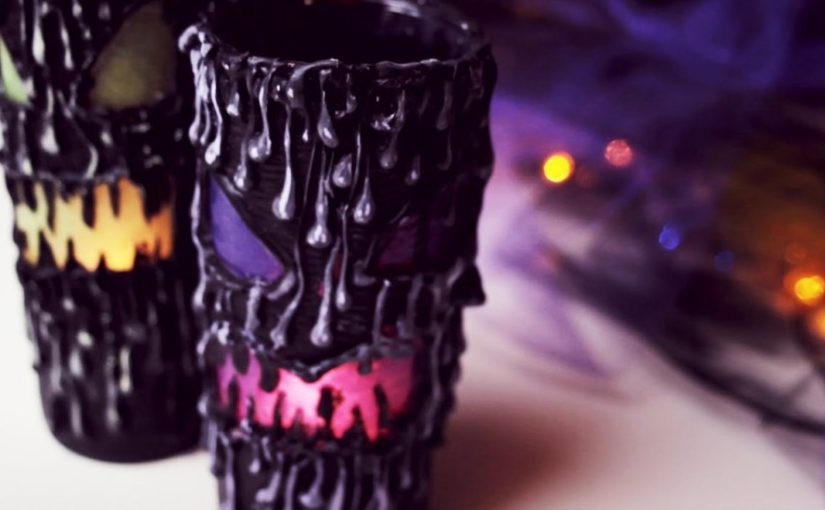 DIY Scary Halloween Lantern