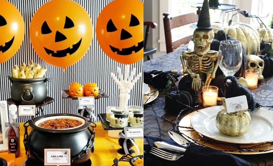 Best halloween dining table decoration ideas