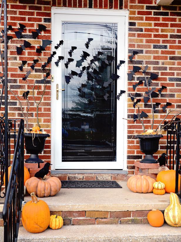 Halloween Bat Entry