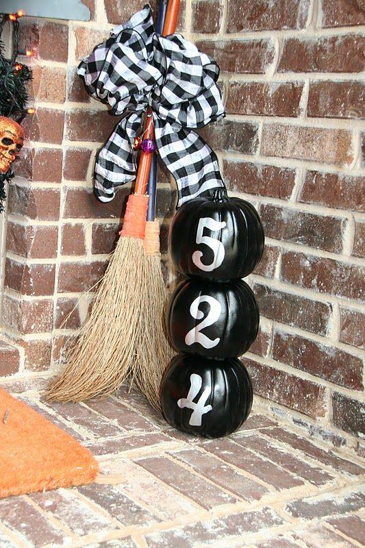 Happy Halloween Black Front Porch