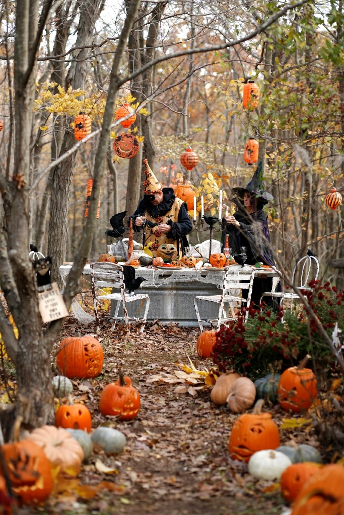 Homemade Outdoor Halloween Decorations