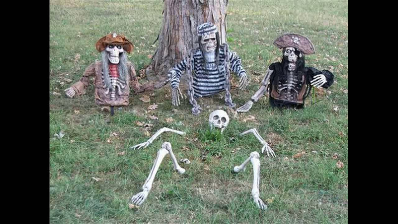 Last Minute Super Scary DIY Outdoor Halloween Decoration