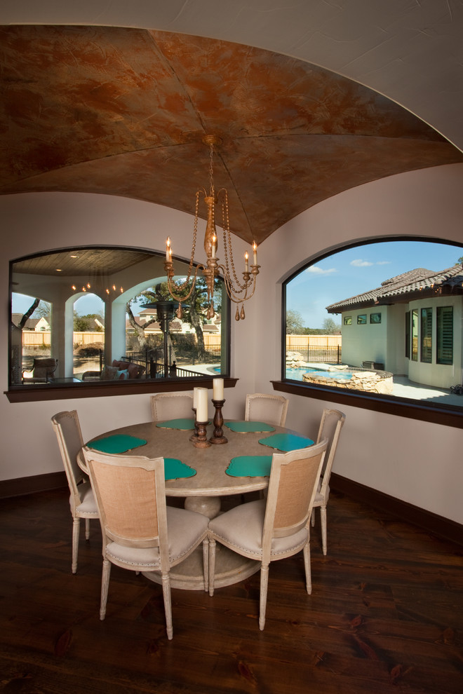 stunning mediterranean style house in austin  texas