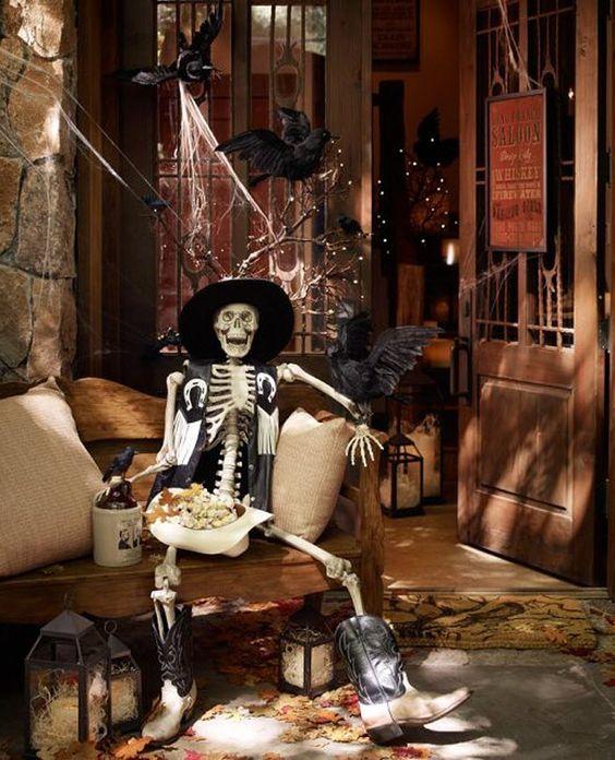 Funny Cowboy Halloween Decorations