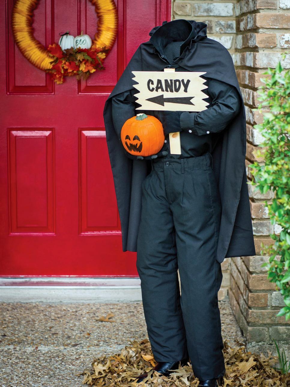 Headless Horseman Halloween Decoration ideas