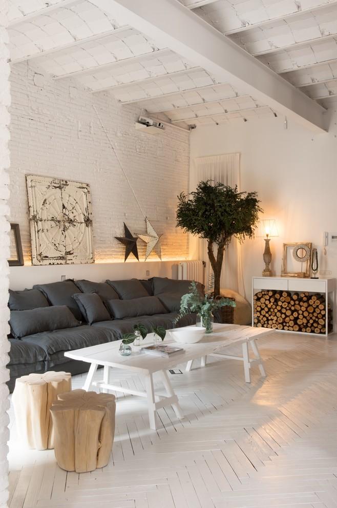 Shabby-Chic Style Living Room Design