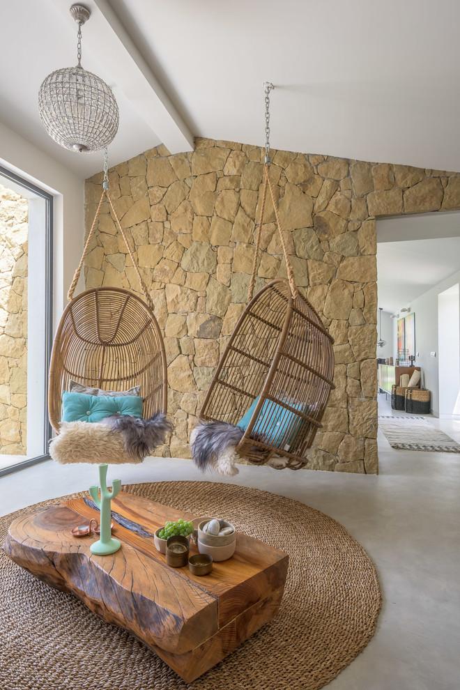 Southwestern Living Room Design