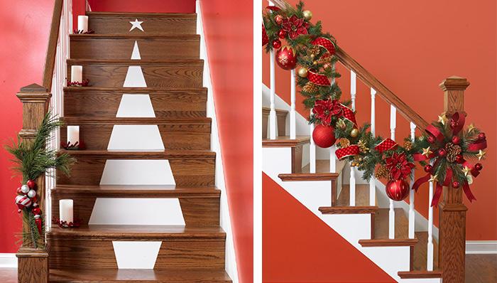 beautiful-christmas-stairs-decoration-ideas-10