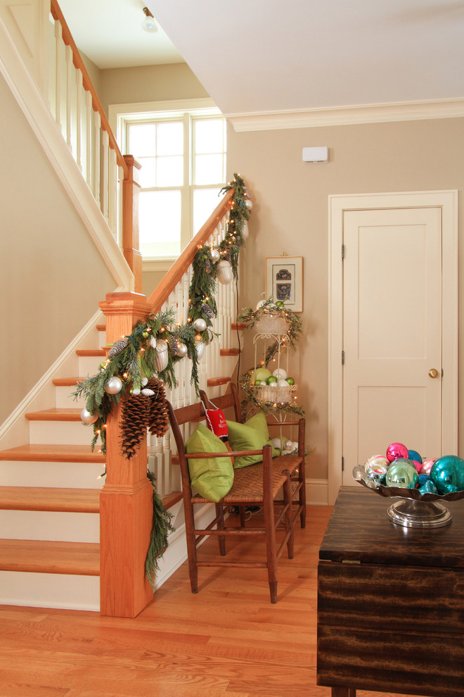 christmas decorating ideas beautiful stairs decoration ideas 29985