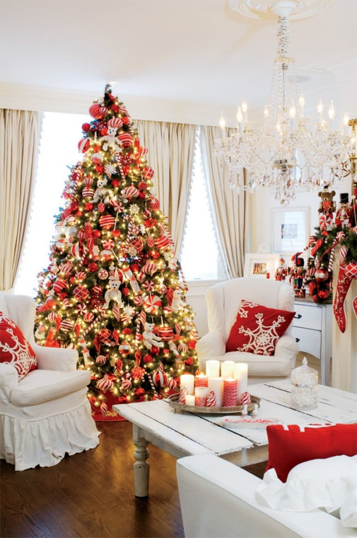 Christmas Living Room Decorating Ideas 9