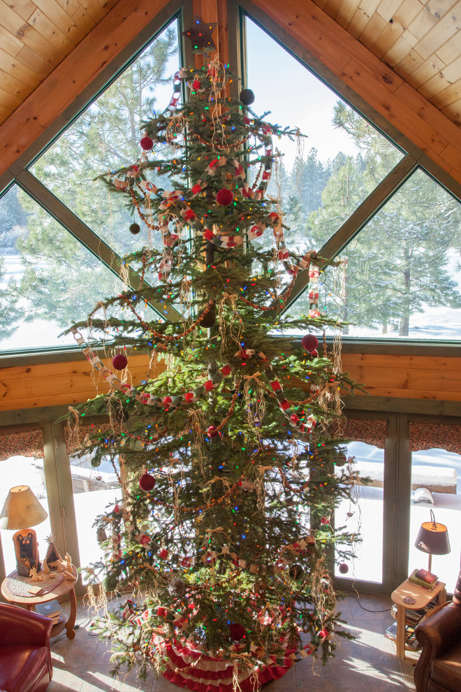 christmas-rustic-living-room-design