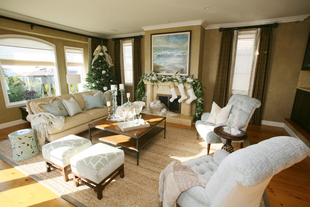 christmas-traditional-living-room-design