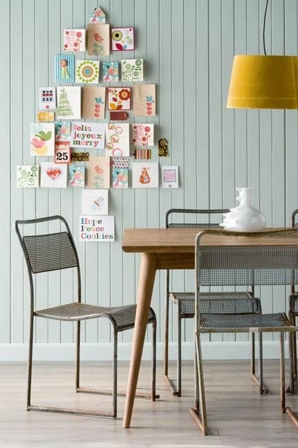 creative-christmas-cards-wall-display