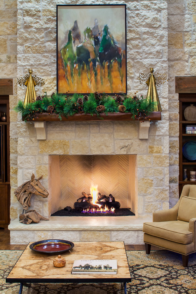 farmhouse-style-living-room-decoration