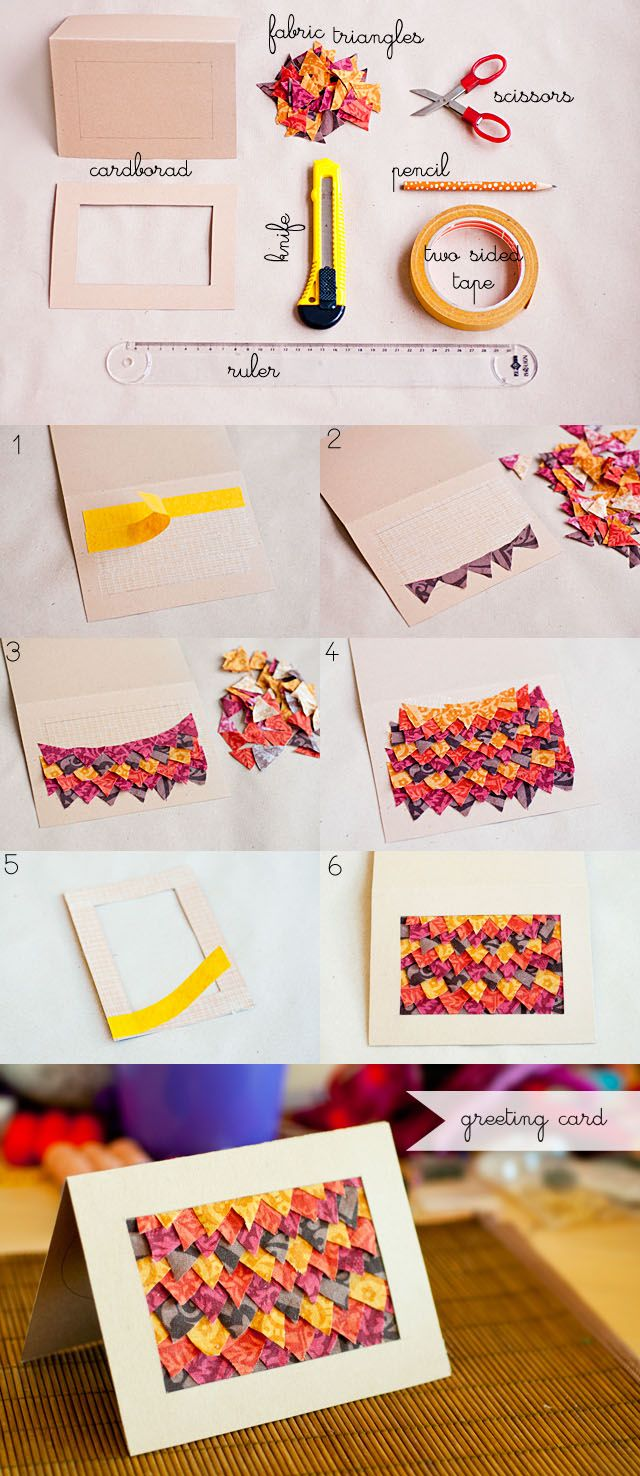 diy-fabric-triangles-greeting-card