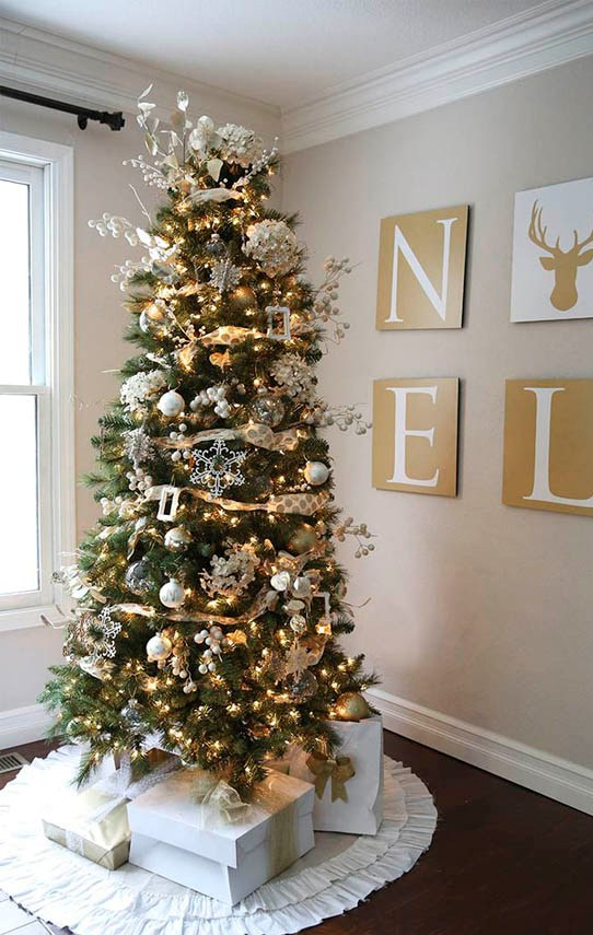 elegant-christmas-trees-decoration-ideas-15