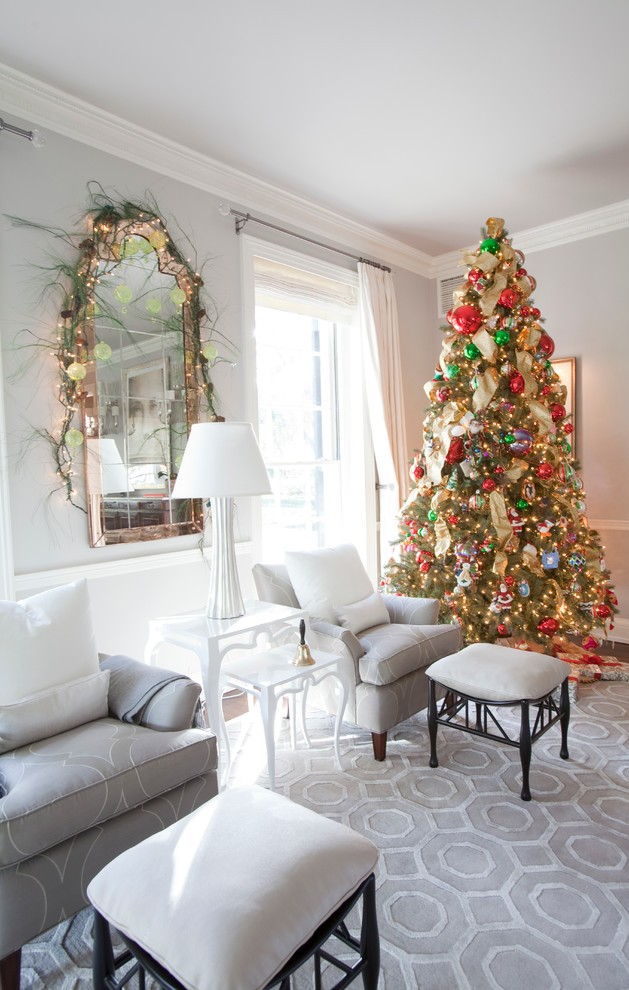 christmas tree in living room photos 21 trees decoration ideas 24415