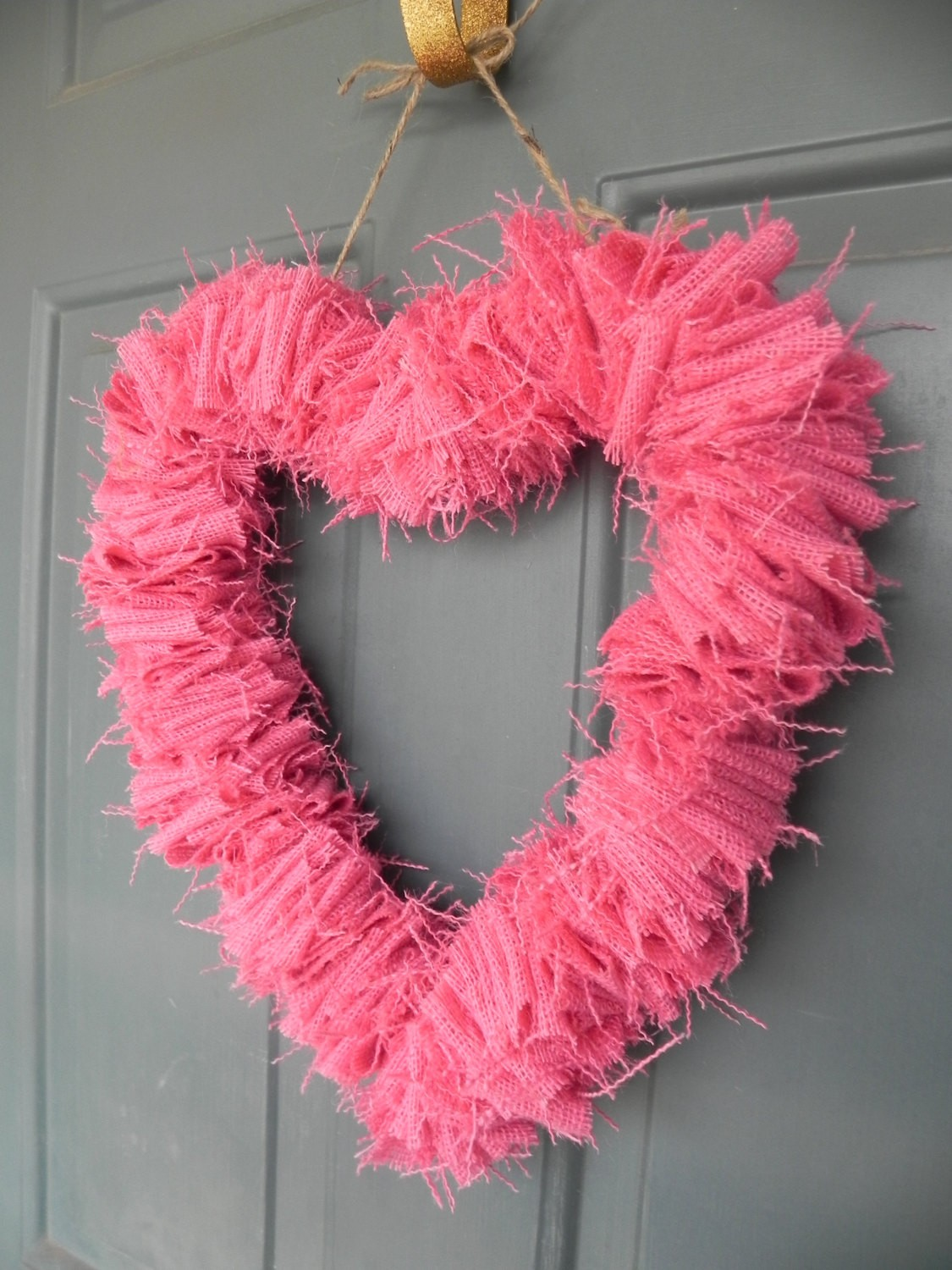 30 amazing wreath ideas for valentine s day for Amazing wreaths