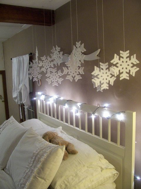 25 Christmas Bedroom Decorations Ideas