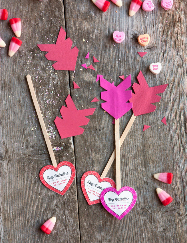 Diy Heart Arrow Decoration