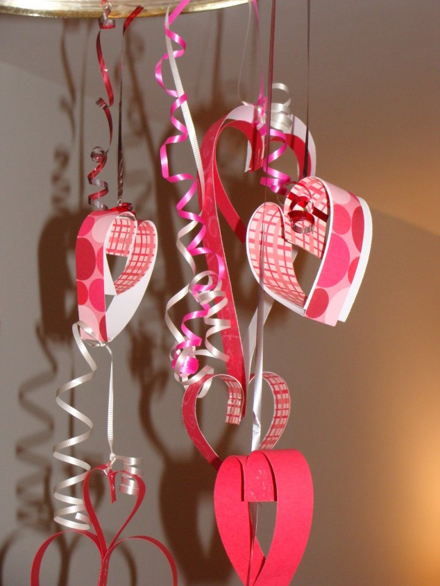 20 cute homemade valentines decorations for Heart decoration ideas