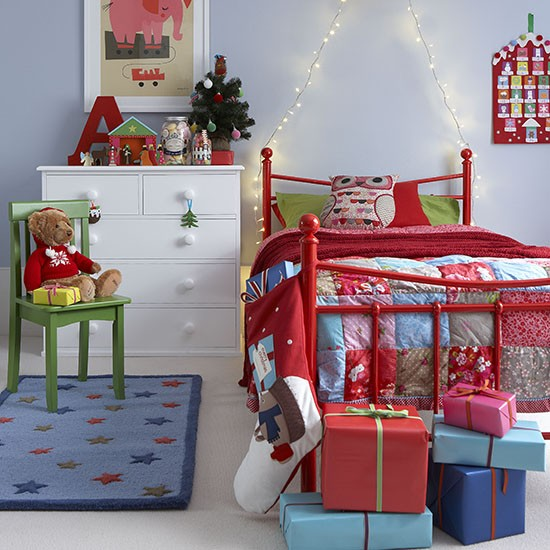 Kids Room Decoration: 25 Kids Room Christmas Decor Ideas