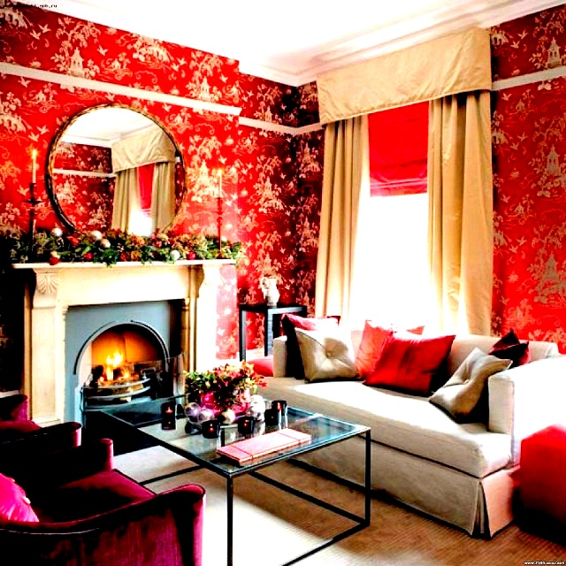 livingroom-red-interior-decoration