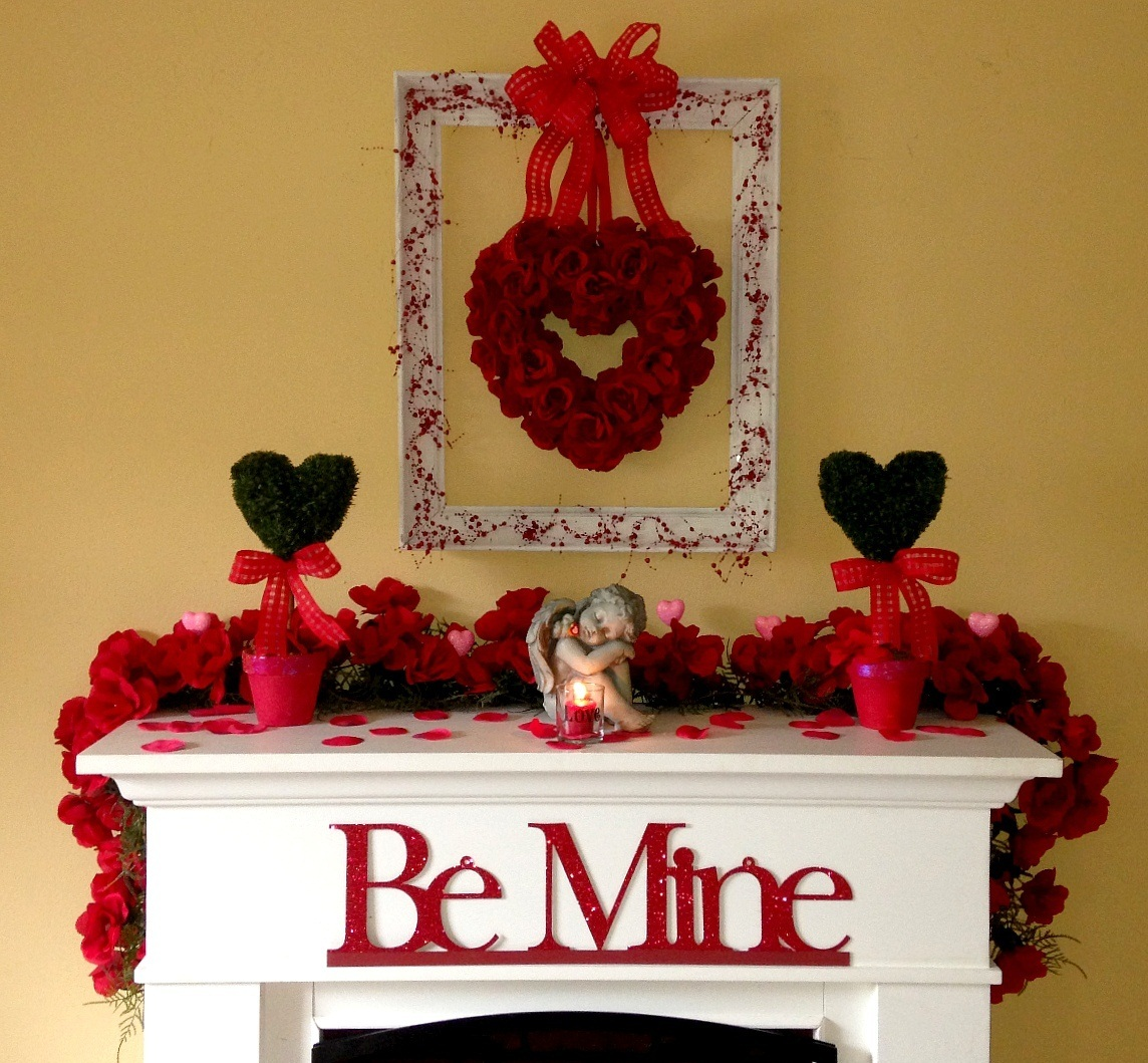 Home Decoration And Furnishing Articles Couple Characters: 41 Fresh Shabby Chic Valentine's Decorations