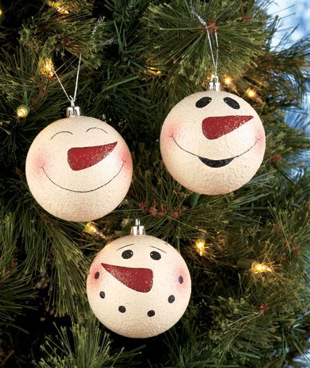 awesome snowman christmas decoration ideas - Snowman Christmas Tree Decorations