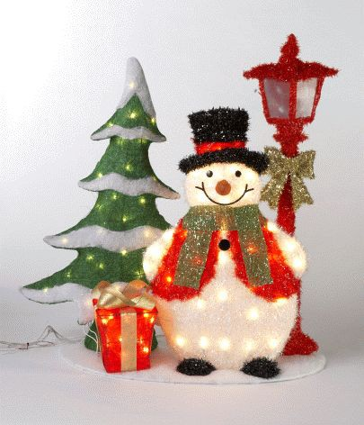 snowman christmas decoration ideas 2