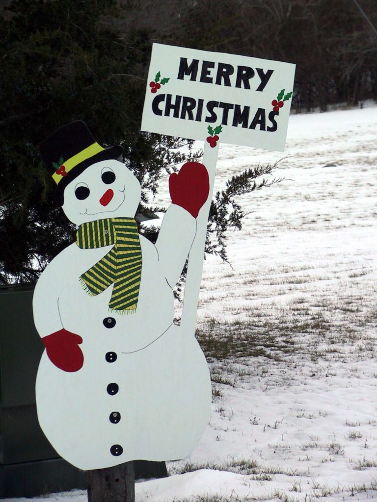 21 Awesome Snowman Christmas Decoration Ideas