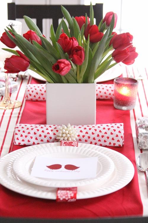 Valentines Day Dinining Decoration Ideas 28