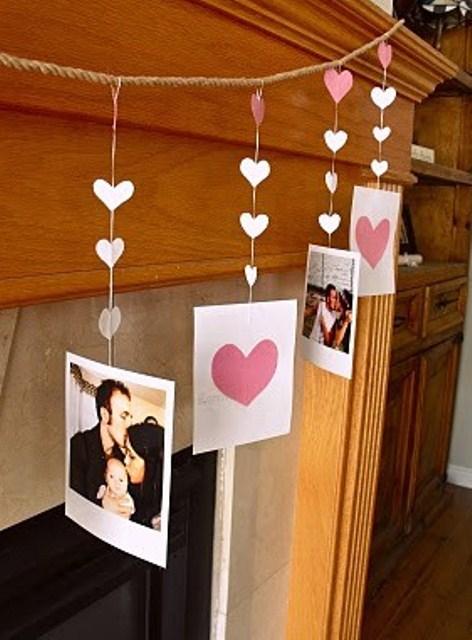 Как украсить комнату своими руками на день святого валентина фото