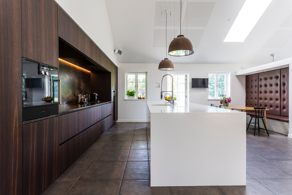 Contemporary Galley Kitchen